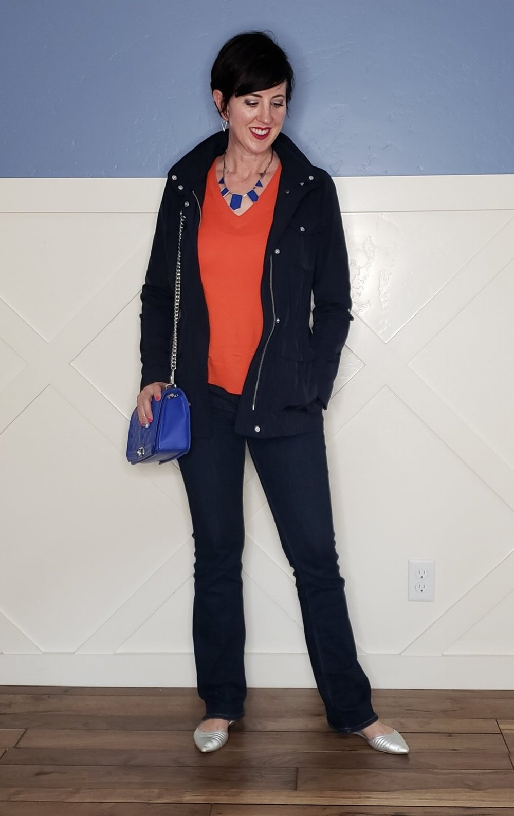Stunning Style. Bold everyday style from a busy stay-at-home mom of 6 kids, spring style. Bold colors, bold lips, classic and edgy style outfits. DYT T4 T4/3. Spring outfits.