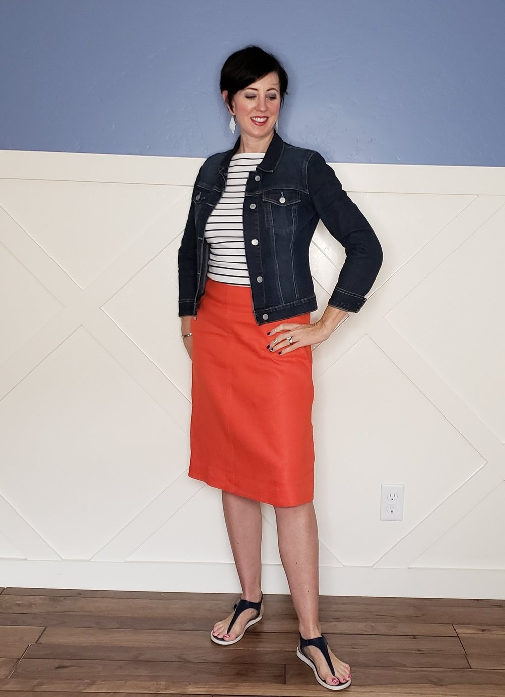 If you want something other than shorts for the spring and summer, skirts and dresses to the rescue! They are comfortable, stylish, easy, and make you look immediately put together.