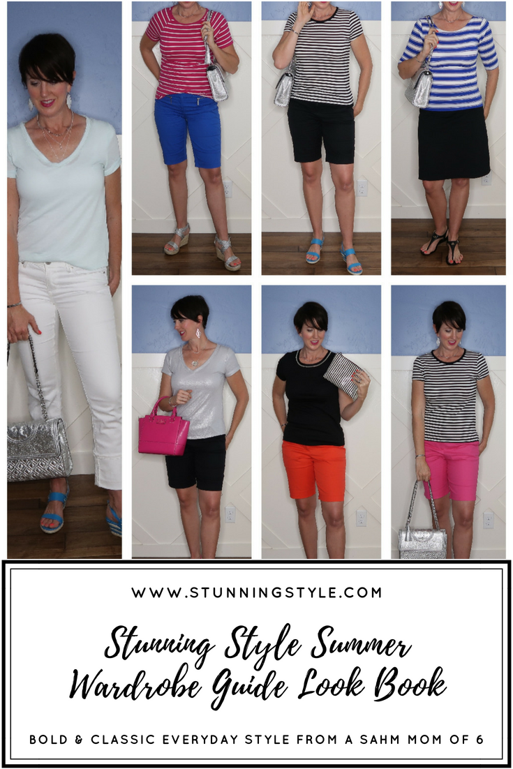 Here is a video look book sneak peak into 7 of the 100 outfit combinations included in the Stunning Style Summer Wardrobe Guide!