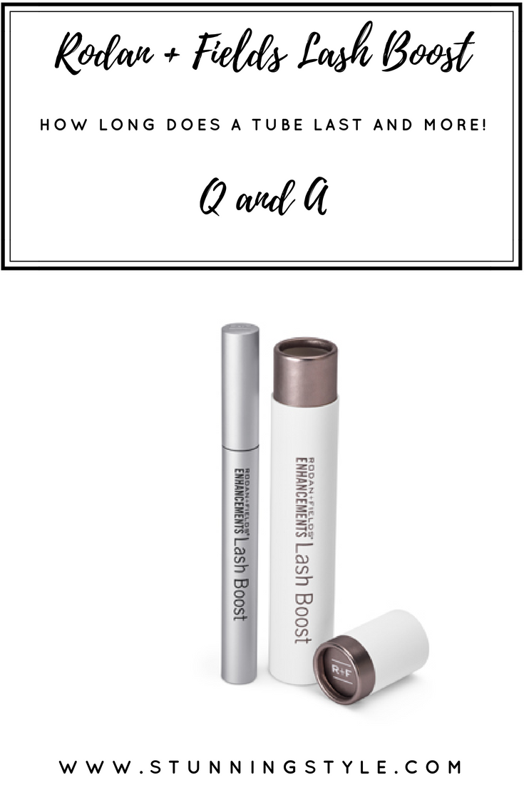 If you've ever wanted to try Rodan + Fields Lash Boost, but have some questions, I have answers! How long does Rodan and Fields Lash Boost Last? How do you use it? How long until you see results? And more!!!