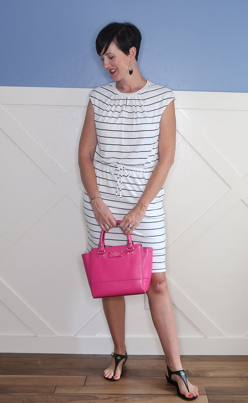If you love striped outfits, there are so many different ways to wear it besides a Breton tee! I'm sharing all my favorite ideastoo wear stripes this summer.