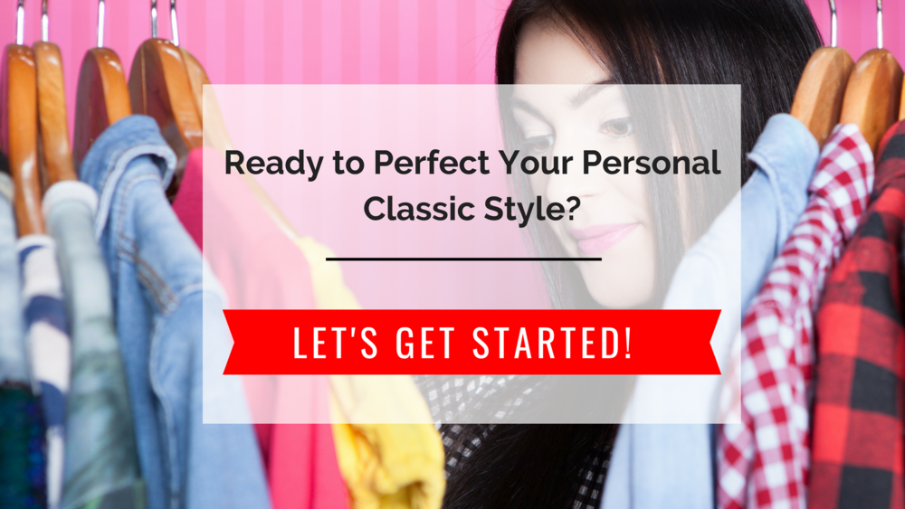 Join me for a 10-day FREE trial of the current Stunning Style Wardrobe Guide! It's especially for the classic woman looking to perfect her style and create her own unique look. Are you Soft Classic, Minimal Classic, Sporty Classic, Edgy Classic or Cute Classic?