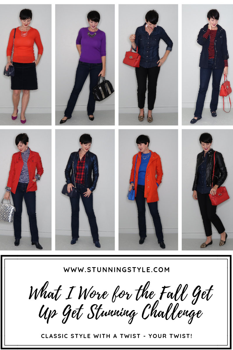 It's fall y'all! Welcome to the fall Get Up Get Stunning Style Challenge. This is week one of outfits from the Fall Stunning Style Wardrobe Guide. Check out how the other stunning ladies in the group wore the same fall outfits!