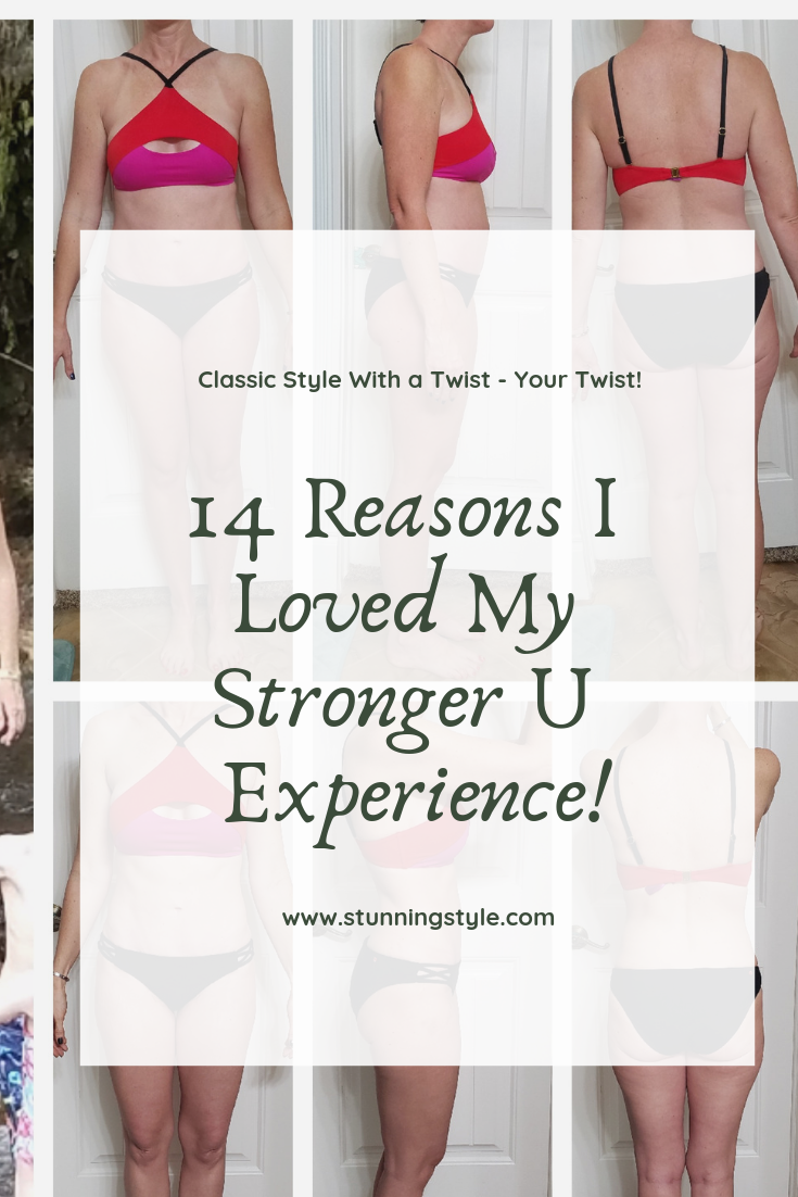 Is your New Year's Resolution to lose weight, get fit, or get healthy falling through the cracks? I started off the New Year exactly where I want to be, thanks to Stronger U! Take advantage of the EXCLUSIVE discount code so you can get on track and lose the weight, too! There is also a giveaway! Check out the 14 reasons I LOVED my Stronger U experience!