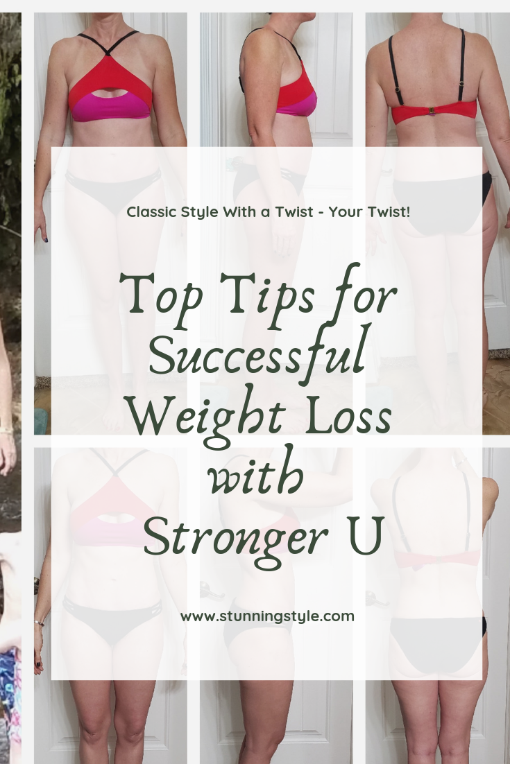Is your New Year's Resolution to lose weight, get fit, or get healthy falling through the cracks? I started off the New Year exactly where I want to be, thanks to Stronger U! Take advantage of the EXCLUSIVE discount code so you can get on track and lose the weight, too! There is also a giveaway! Check out my top tips for successful weight loss with Stronger U!