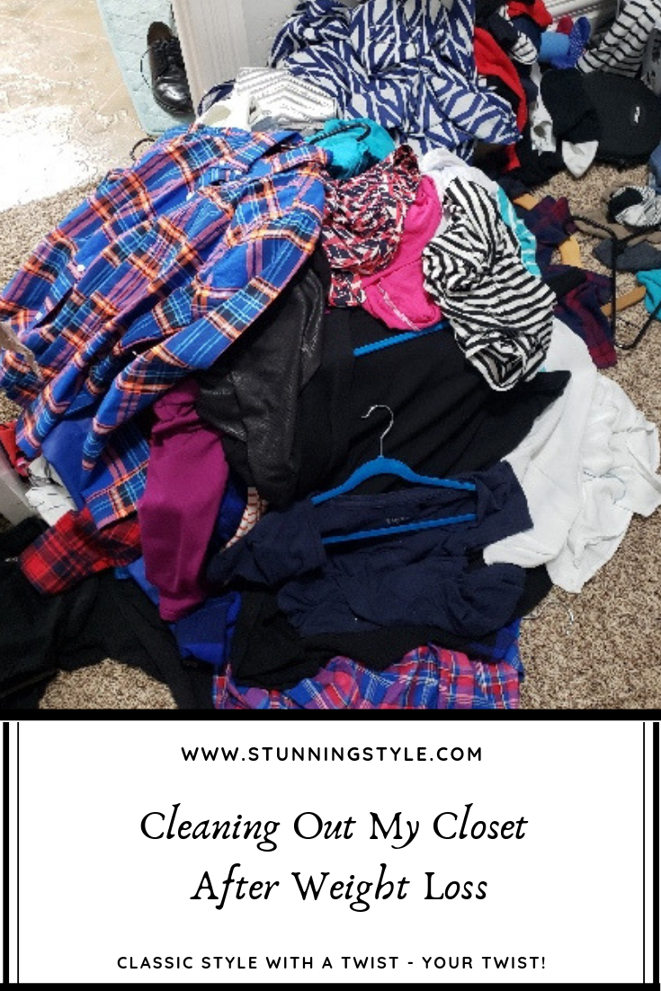 After I lost 16 pounds with Stronger U Nutrition, I had to purge my closet with a new frame of mind. Am I willing to tailor these items to fit? If not, then it's an easy choice to let them go. Clean out my closet with me while I show you what I'm getting rid of and why.