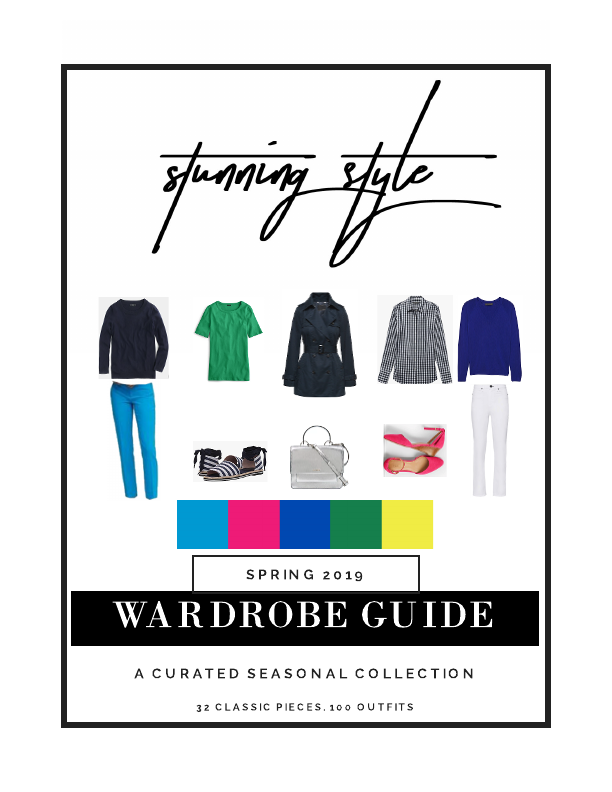 The Stunning Style Spring Wardrobe Guide is here! 32 classic pieces. 100 outfits. All the shopping links. Exclusive styling content. Get your copy and all of the benefits of the Society today!