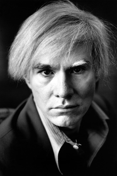 Michael Childers,  Andy Warhol Closeup , 1976, photographic materials, 14 x 11 in.,   Scripps College