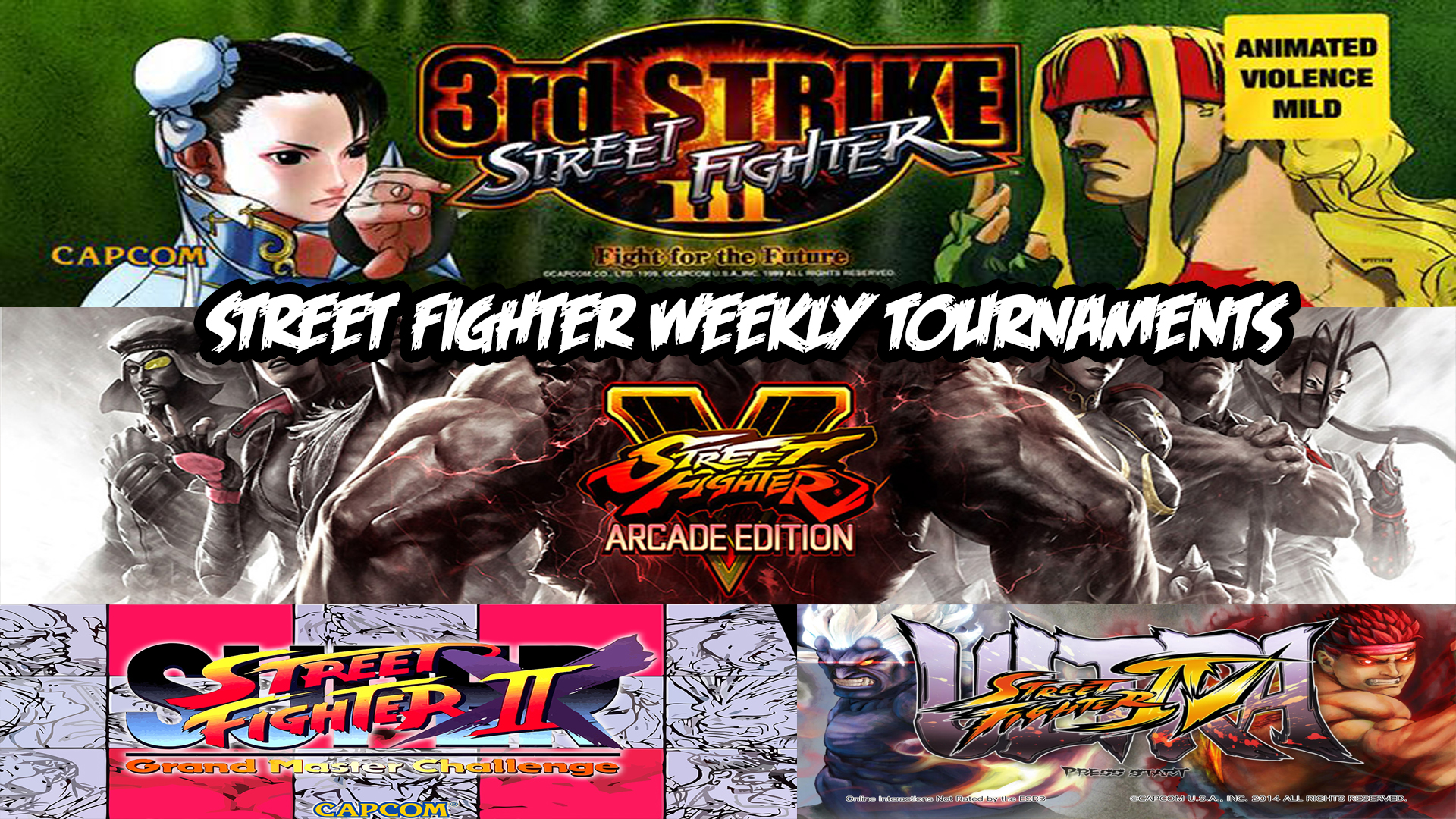 Street Fighter Weekly Meet Up — Akihabara Arcade