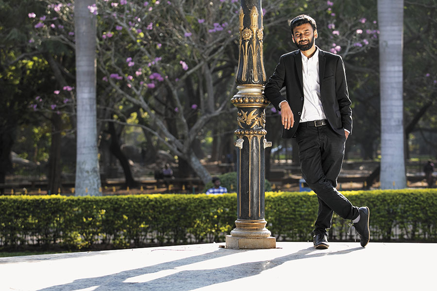 Shiva Nalluperumal, shot for Forbes India by Selvaprakash Lakshmanan