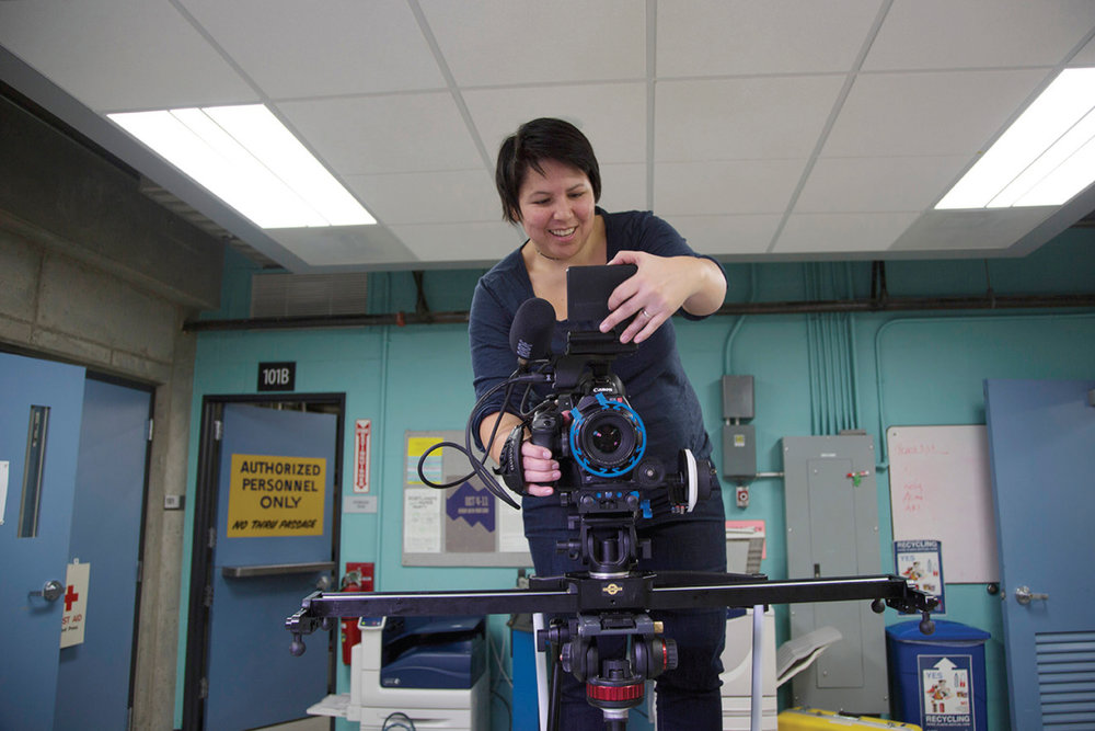 Director of Photography, Dawn Jones Redstone