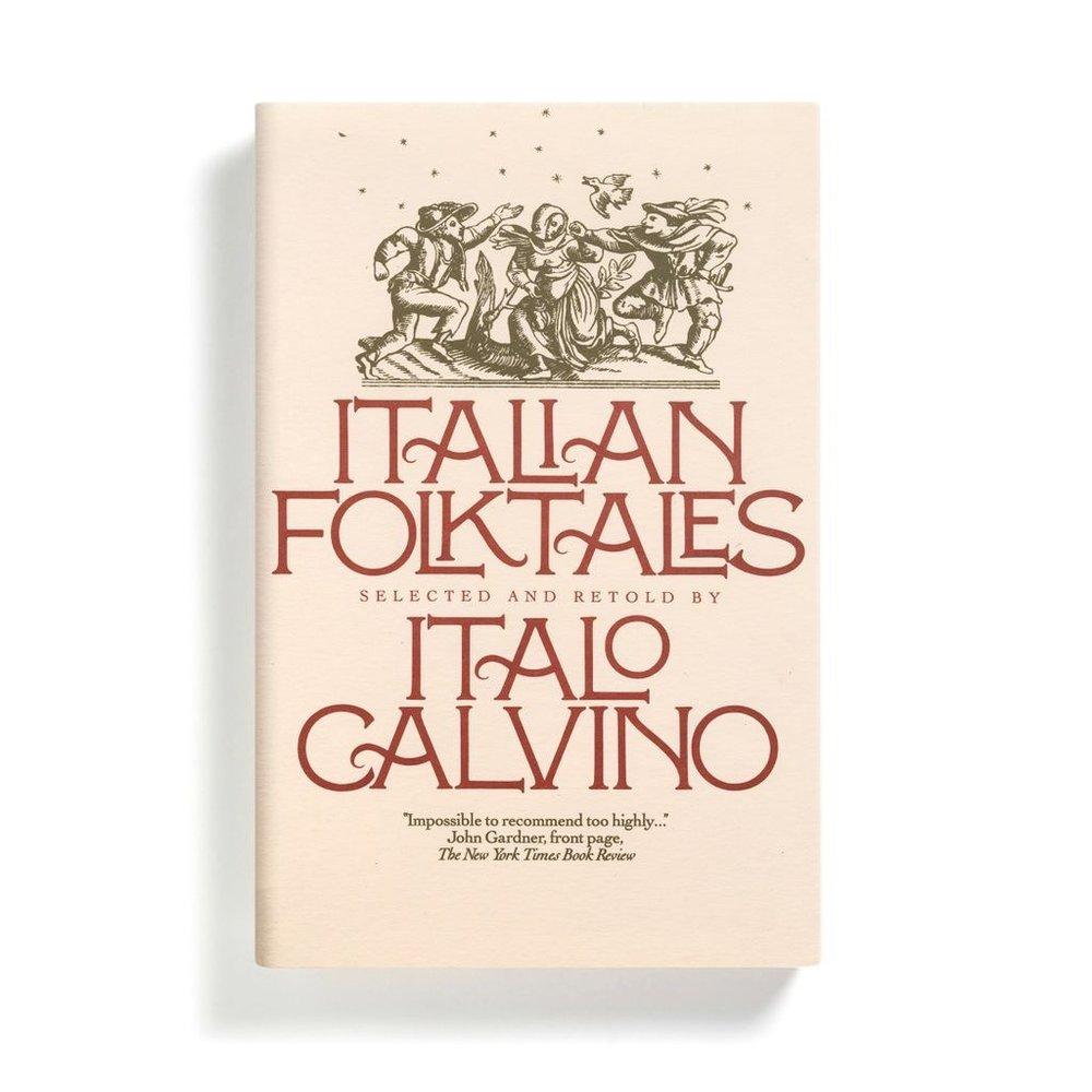 Fili's 1980s jacket for Calvino's Italian Folktales (Fiabe italiane).