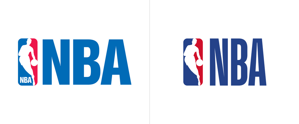Secondary logo: before and after