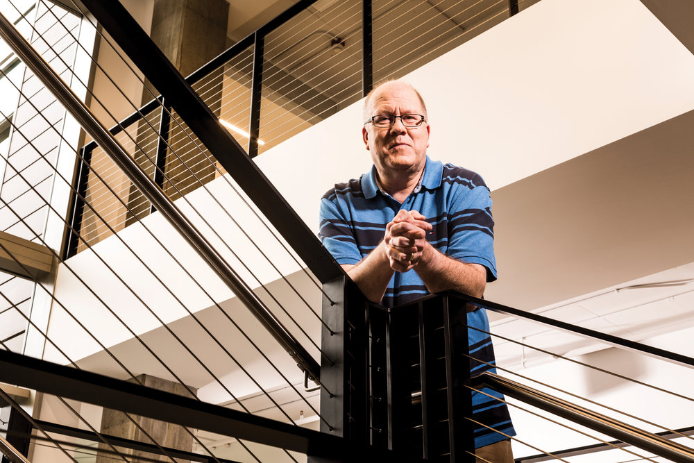 Greg Hitchcock's journey to Microsoft was a bit circuitous —he studied geography with a focus on computer cartography, and immersed himself in computer science.