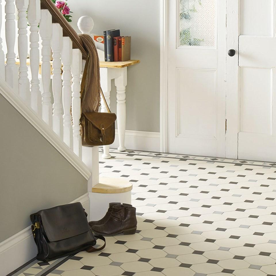 """Original Style, Victorian Floor Tiles, """"Nottingham"""""""