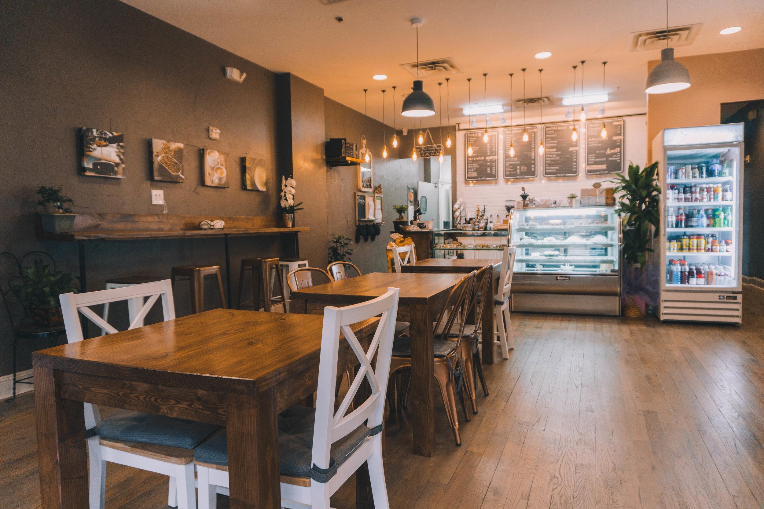village café & bakery