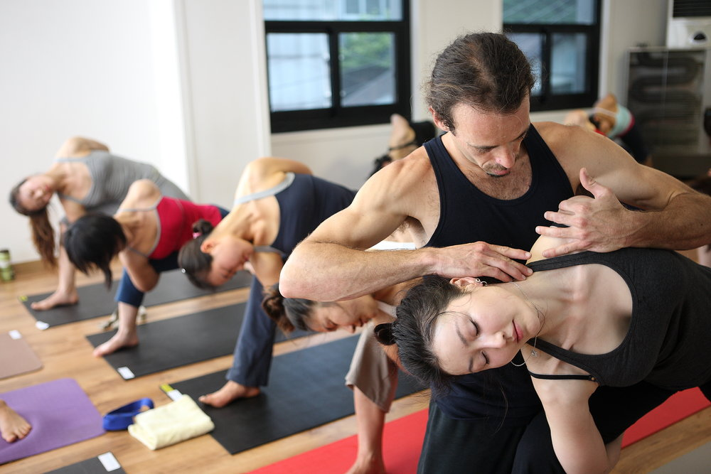 body work yoga brian campbell workshops