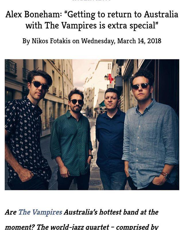 Check out @alexboneham interview at Australiajazz.net 📣