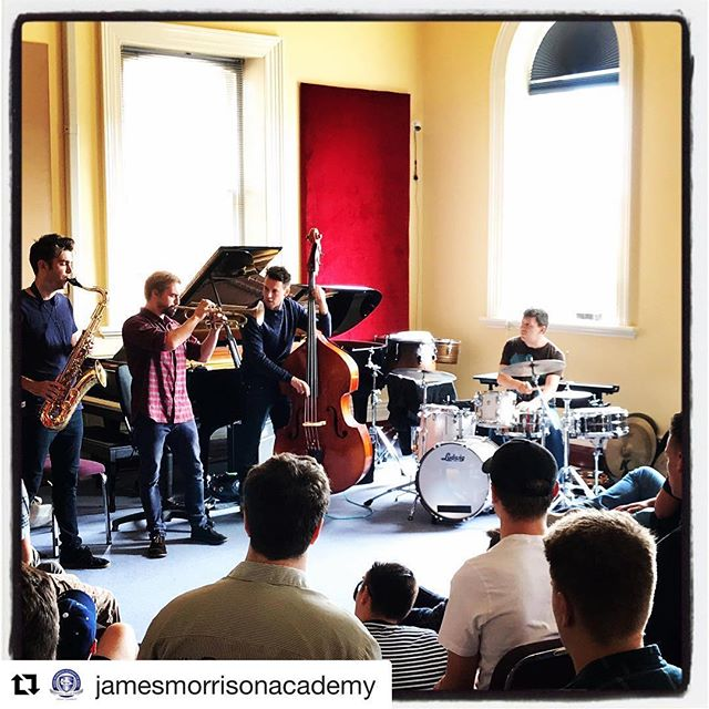 #Repost @jamesmorrisonacademy with @get_repost ・・・ Great having The Vampires at JMA today 🧛‍♂️ Can't wait for tonight at the jazz club #democraticcoleadgroup #musicaltrust #respect #everyonelovesbassclarinet @morrisonsjazzclub @thevampires_mus #jmaalltheway