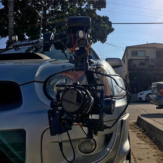 Got | Boost!? @fullsensepro Testing Our New Rig In The Wild. @tonydimaria @kapturedm Gremsy | Goes! Don't want to use DJI products or a bigger Red system on a car rig?This is the way to go and oh yeah it can hold up to 75mph too. #car #rig #sunset #flare #cinema #production #photography #photographer #landscape #perspective #lifestyle #adventure #sandiego #sd #sky #sunshine #weekend #colors #colorful #4k #sony #cruisin #gimbal #dslr #subie #subaru #clouds #afternoon #drone #aerial @pacific.beach