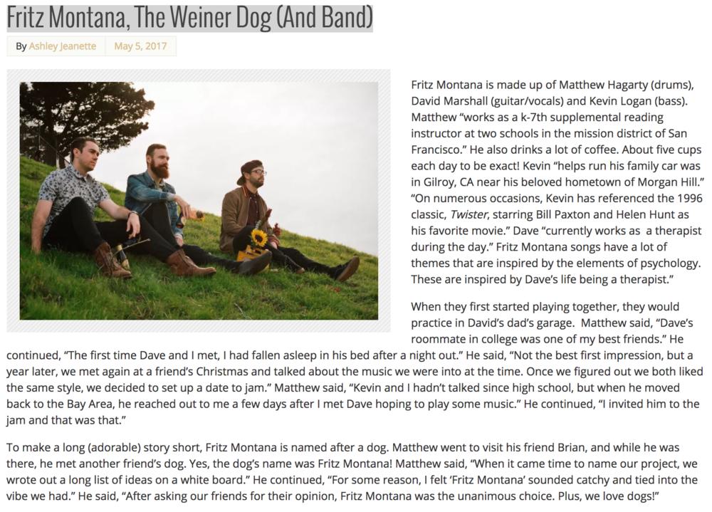 Interview:The Corner Type - 05/05/17