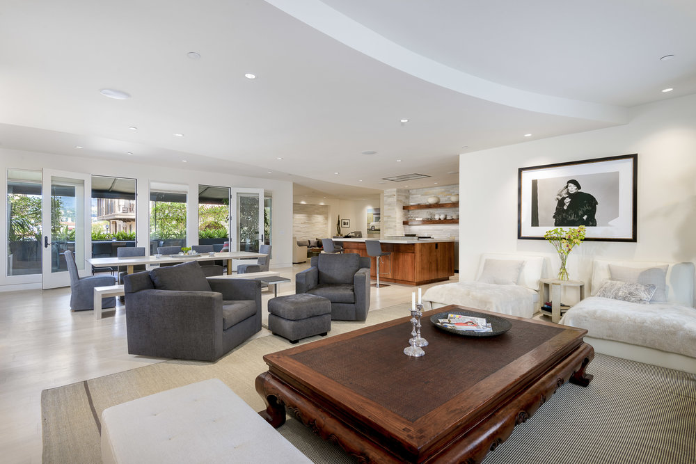 ... Santa Barbara Combines Antique And Custom Furniture, Crisp And Clean  Finishes, And Spa Like Amenities. Interior Partitions Were Removed And  Changed, ...