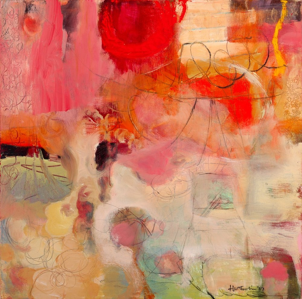UNTITLED - OIL ON CANVAS / 24 X 24 (SOLD)