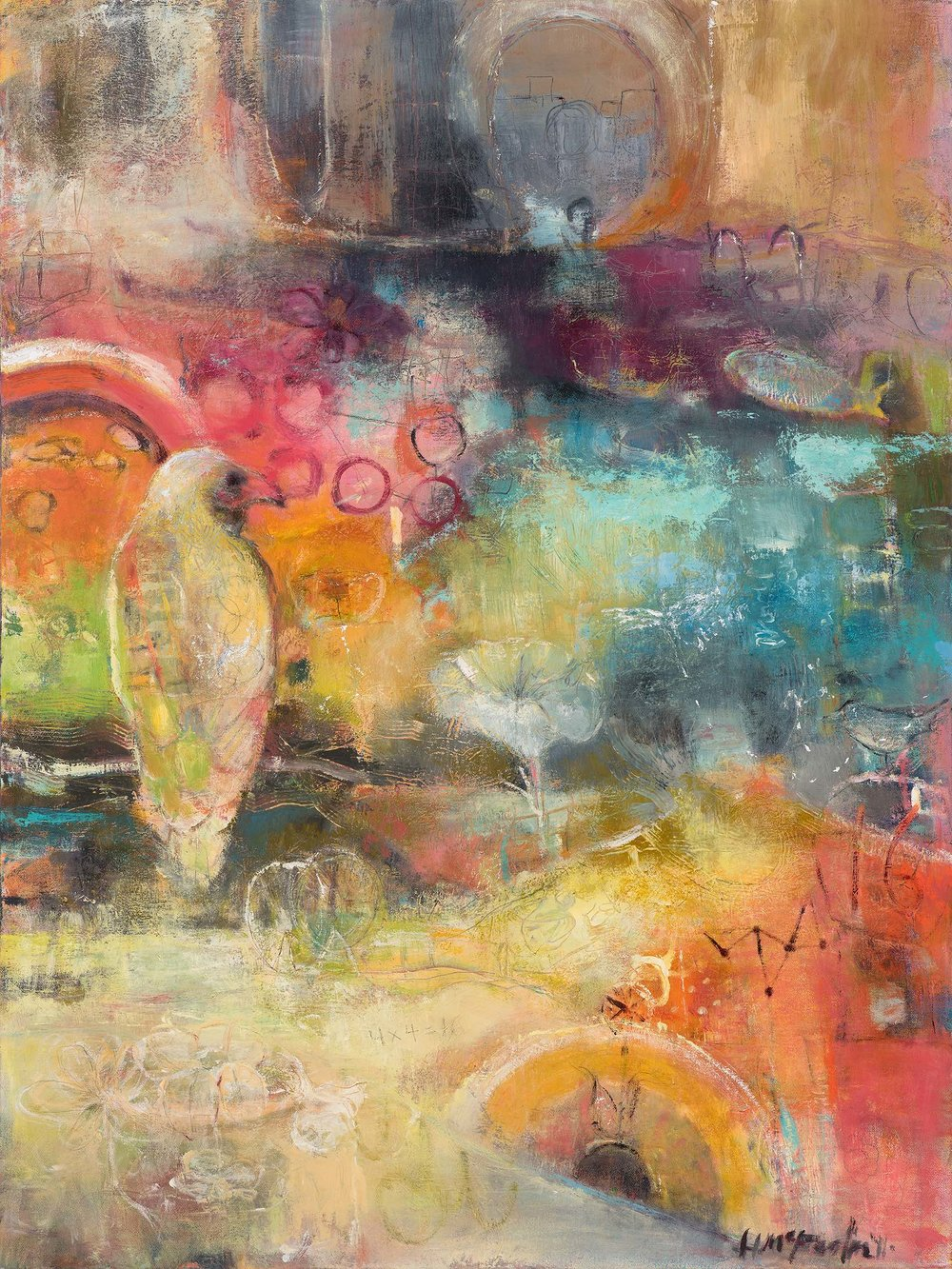 SOUL EDUCATION - OIL ON CANVAS / 24 X 36 (SOLD)