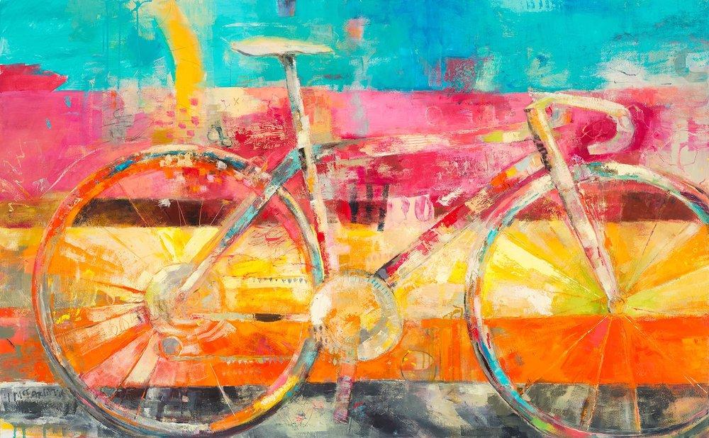 GLITTERATI NO. 2 - oil on canvas | 36 x 48 (sold)