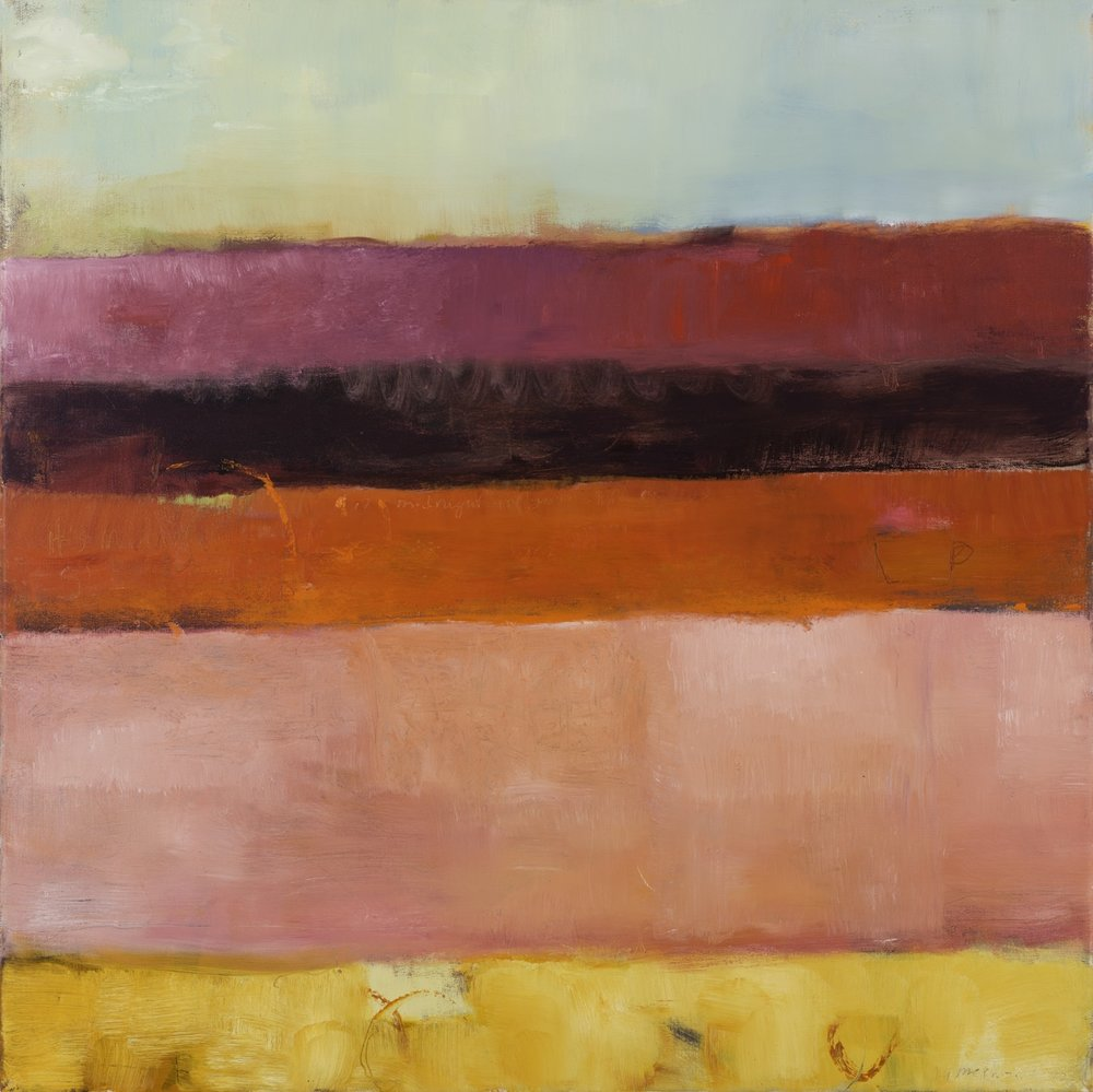 MIDNIGHT - oil on canvas | 30 x 30 (sold)