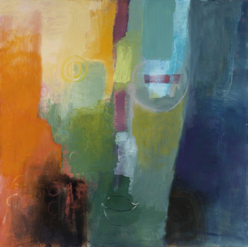 AWAKE - oil on canvas | 36 x 36