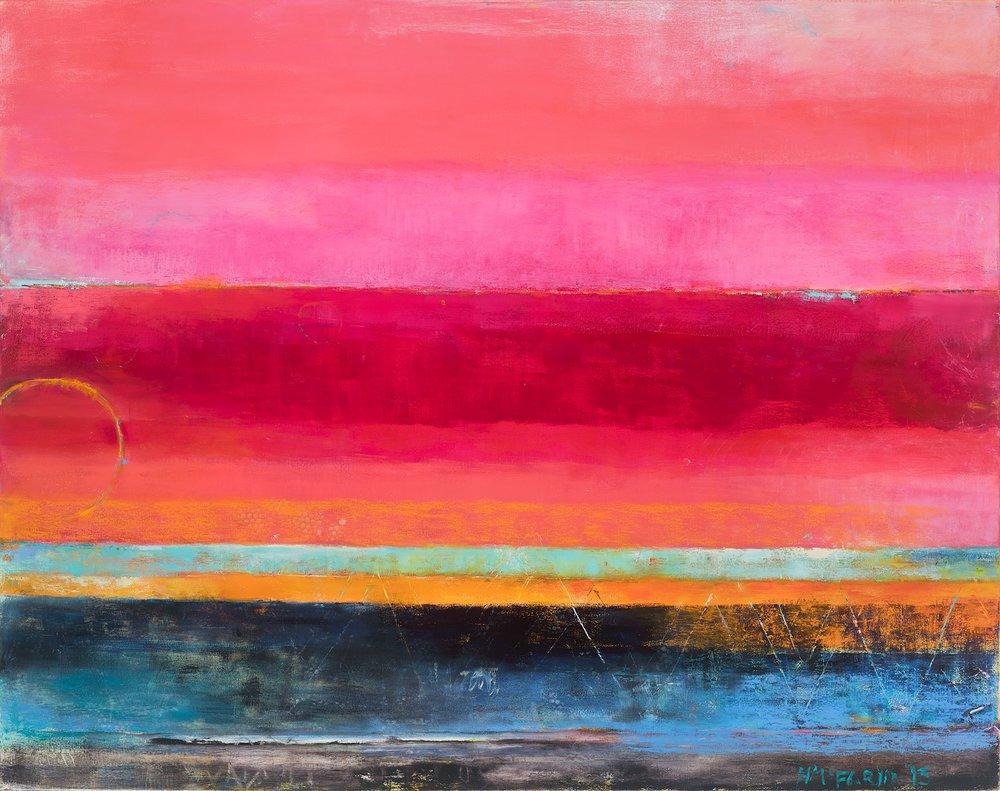 RASPBERRY DAWN - oil on canvas | 48 x 60 (sold)