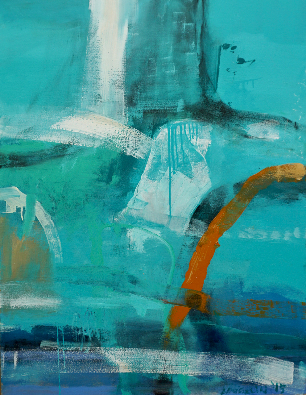 ELEMENTAL | acrylic on canvas | 30 x 40