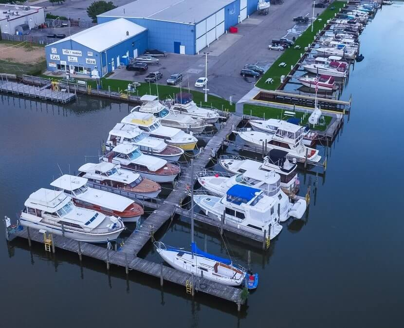 <p><strong>Dockage</strong>Offering 42 docks along the Saginaw River<a href=/dockage/>Learn More →</a></p>