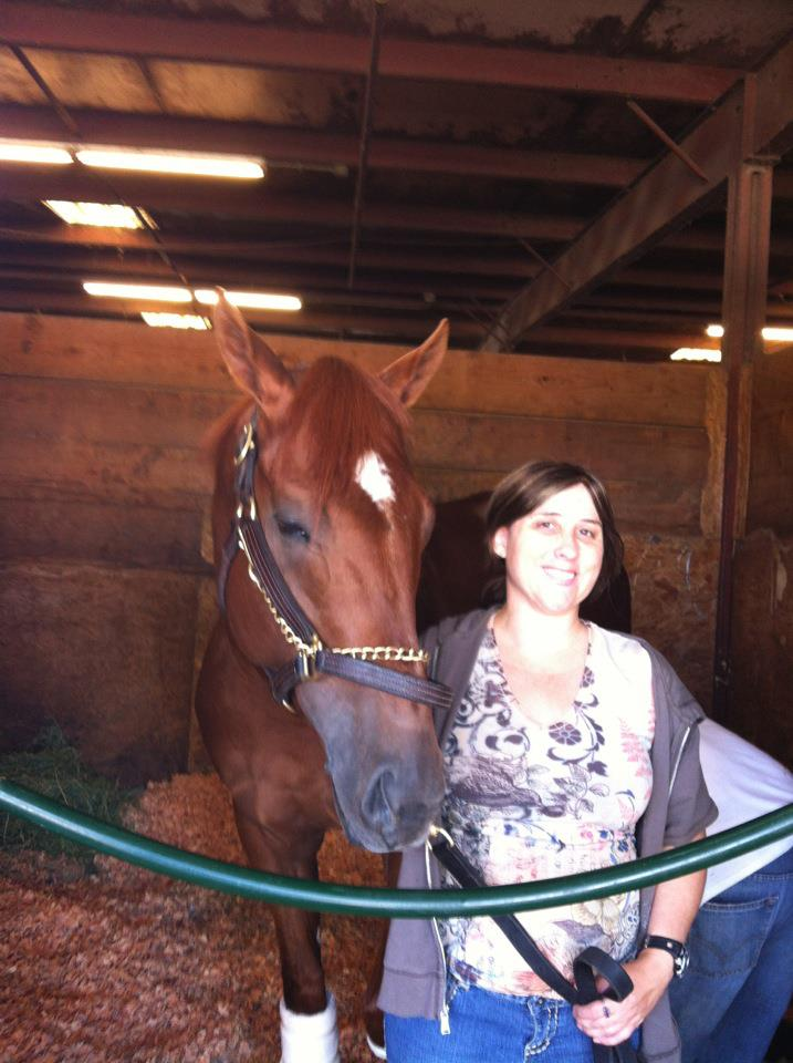 Natalie Kaufmann - Southern California My passion for horse racing began in 2012 when I decided to join a well-known syndicate Little Red Feather. I very much enjoyed owning a small percentage of a race horse named Ice Cream Truck who later went on to run in the Pacific Classic and being part of several claiming funds but I did not have enough money to continue to buy shares after becoming a single mother. My interest in horse racing was so great that I sought out the job of a hotwalker on the weekends, most of the time offering my services for free, just to get the opportunity to be around the horses. I was even lucky enough to work for Trainer Doug O'Neil for a season and get the Opportunity to walk Kentucky Derby Winner I'll Have Another. In 2016 I became a Southern California Liaison for TBSX coordinating Experiences for 30 Pepperoni's and One Smart Cat. nkaufmann@teamtbsx.com