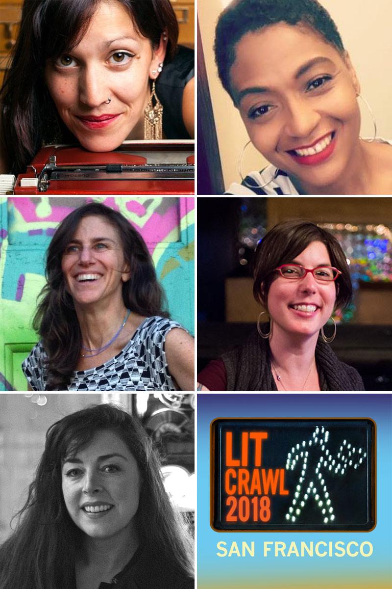 Left to right, top to bottom: Silvi Alcivar, Nicole Hankton, Leslie Jonath, Eden Stein, and Hiya Swanhuyser