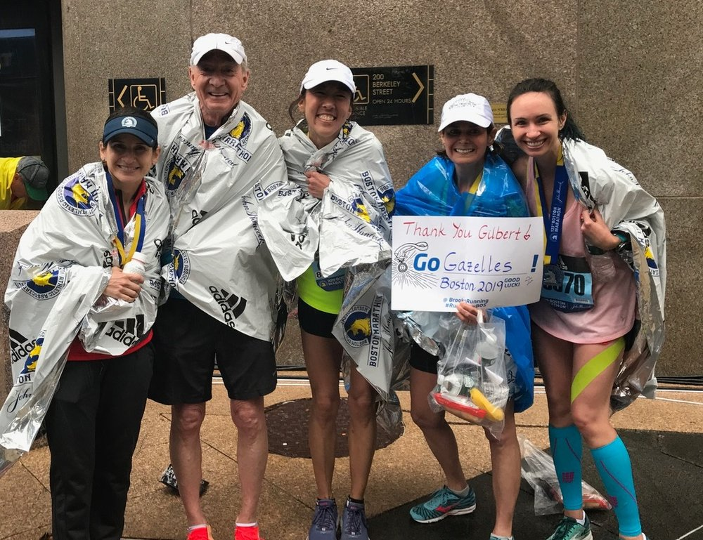 Carrie, second from the right, Boston 2019
