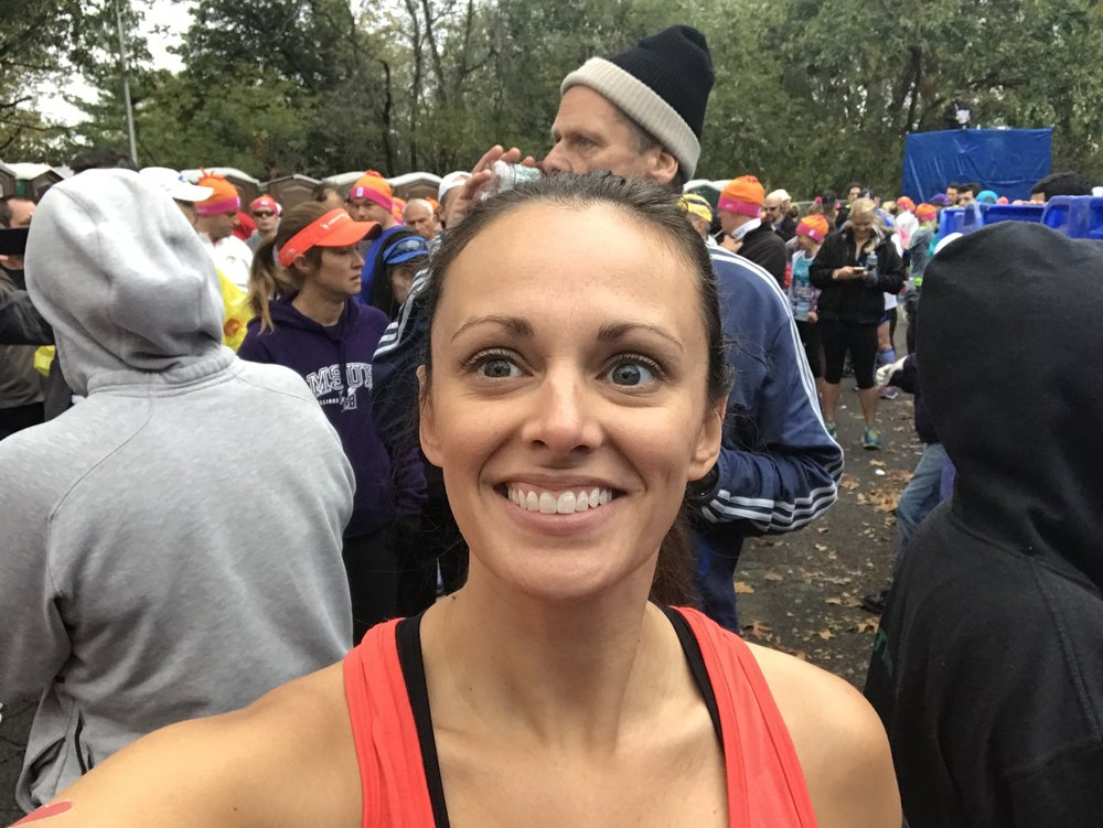Meghan at the NYC Marathon