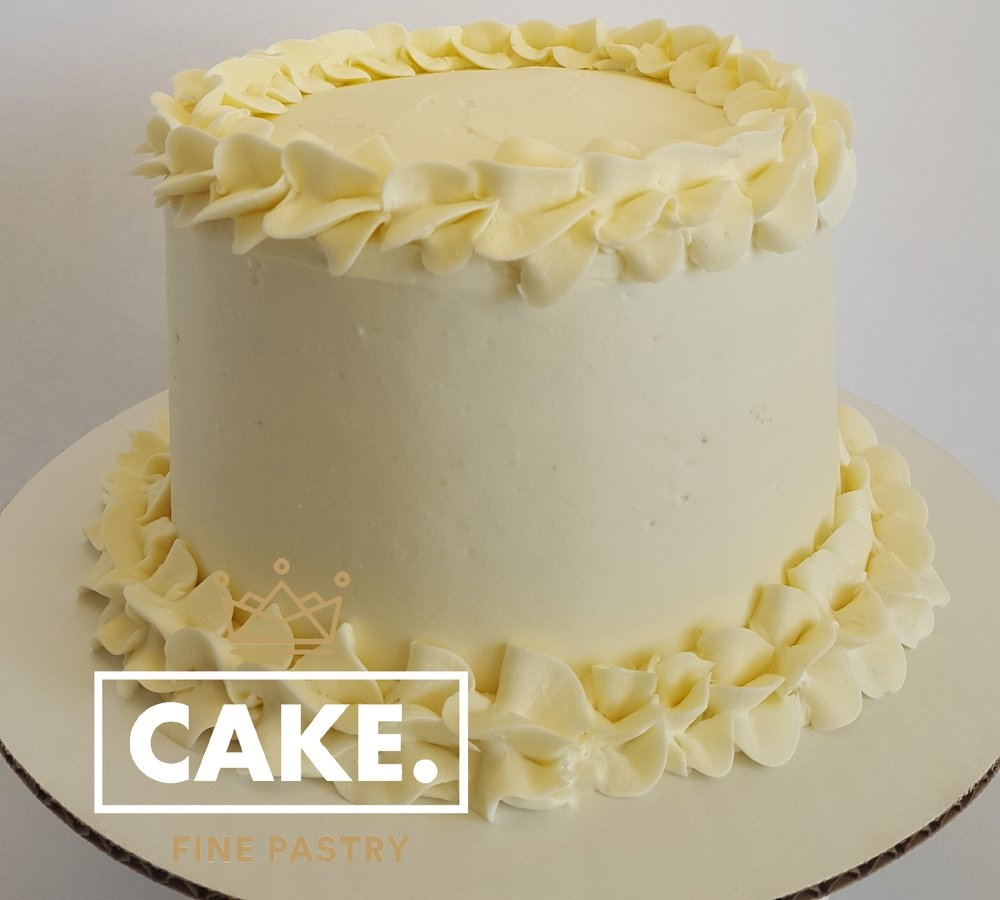 "6"" French Vanilla Cake"