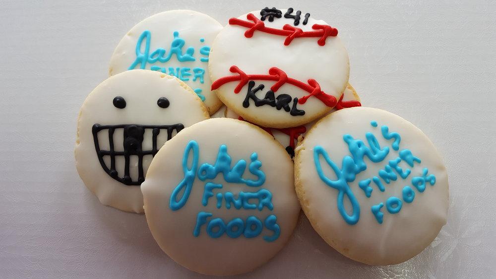 Custom Decorated Sugar Cookie
