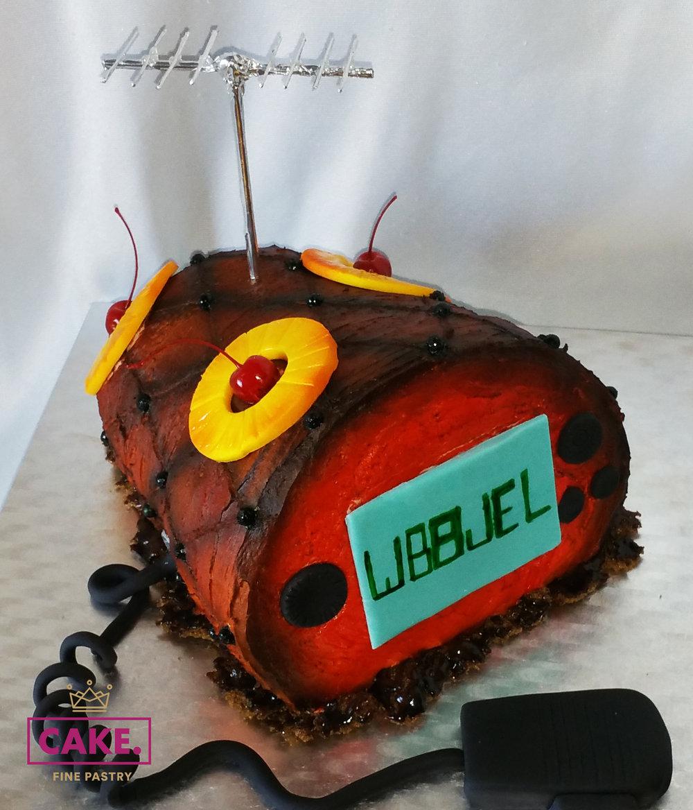 Ham Radio Cake