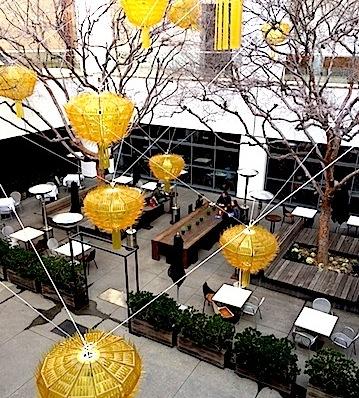 Hammer Museum Courtyard