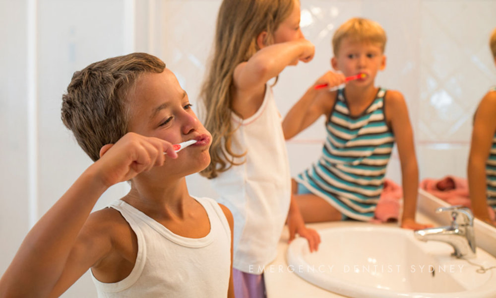 © Emergency Dentist Sydney Soft Teeth Is There Really Such a Thing? 04 Kid brushing teeth.jpg