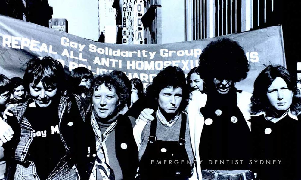 Sydney's first Mardi Gras, 1978, was a protest.