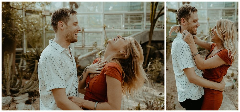 brooklyn botanical gardens love session