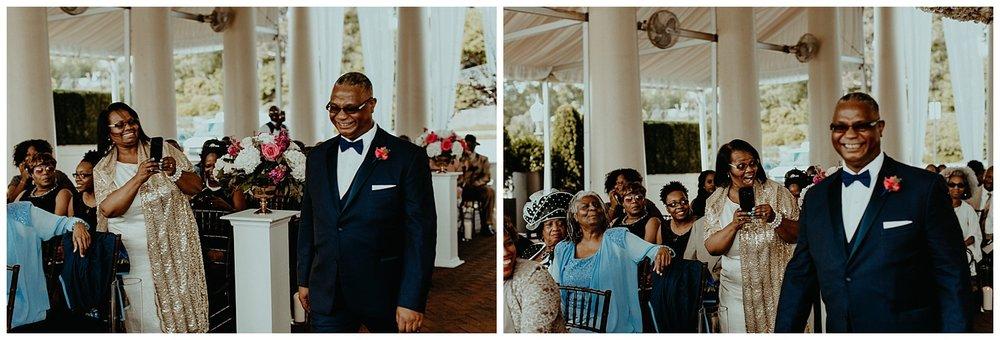 african american groom