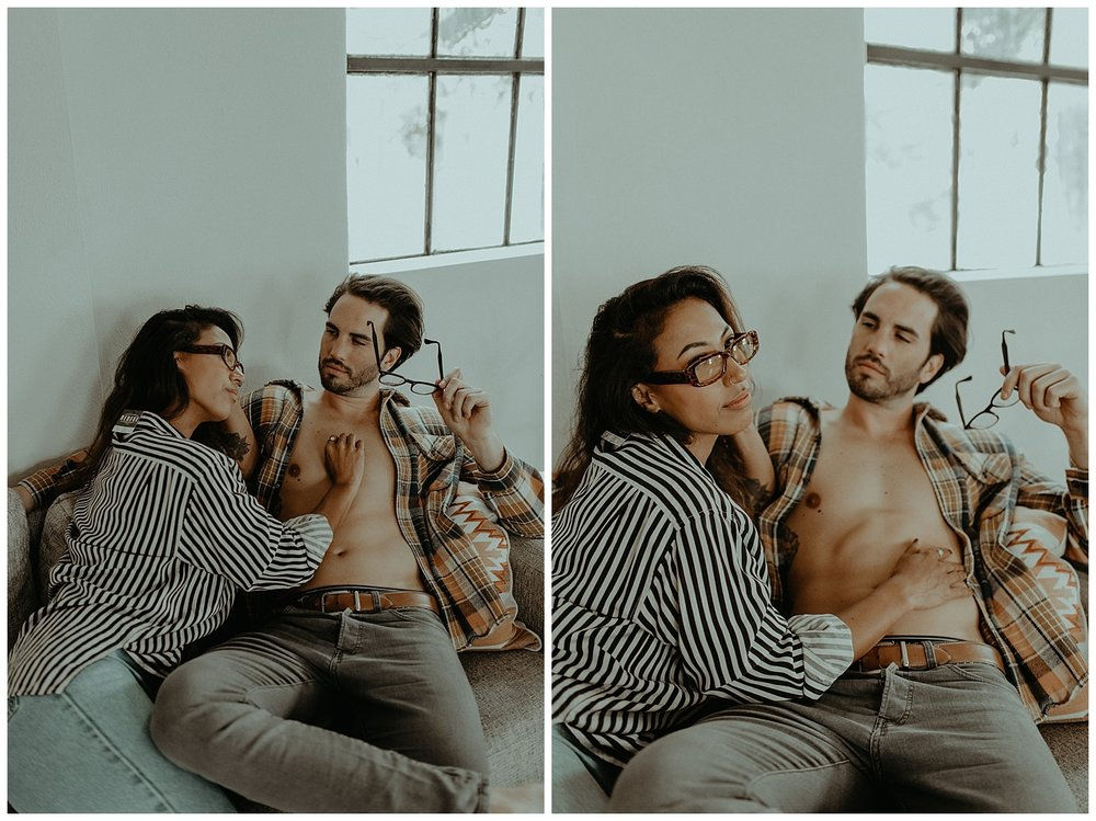 intimate couples session