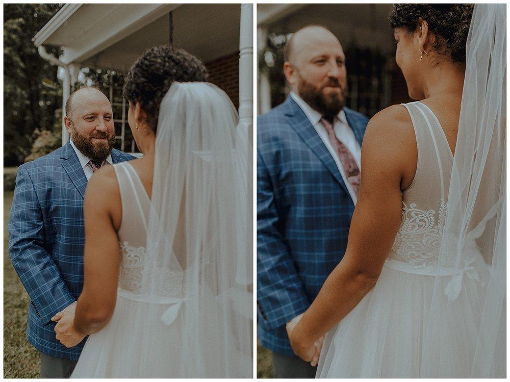 blue plaid wedding suit