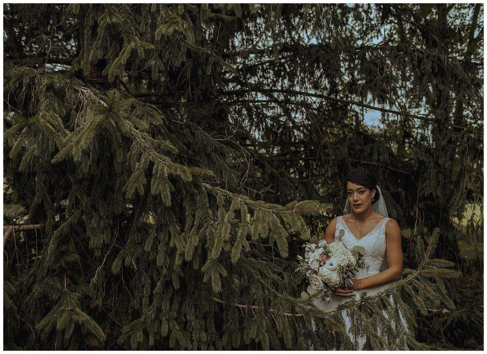 african american bride