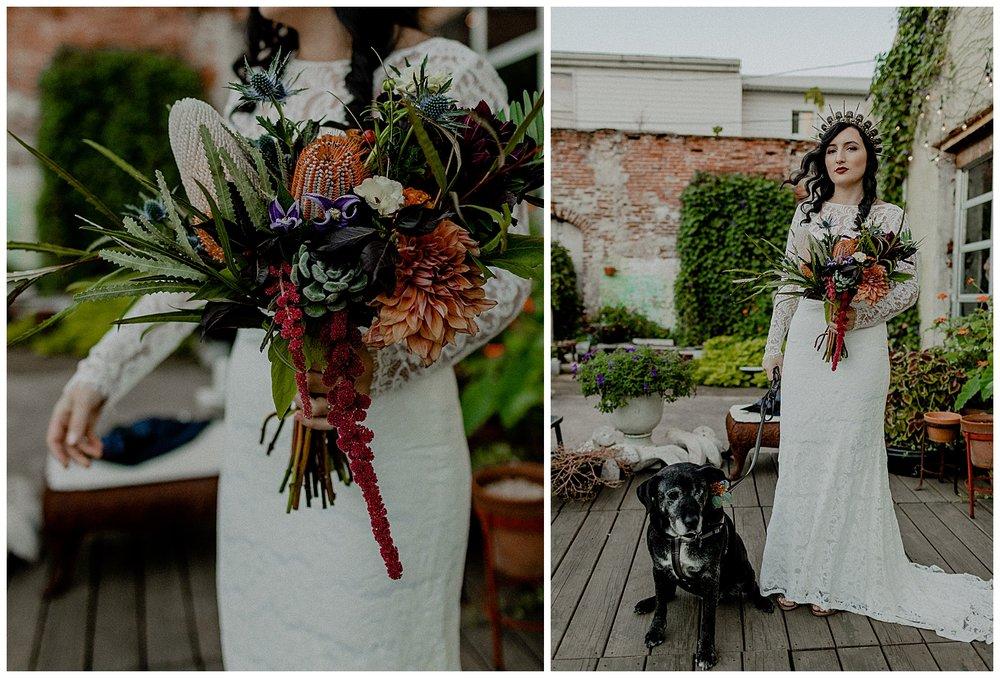 a bohemian bride